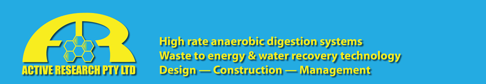Acitve Research - High Rate Anaerobic Digestion Systems
